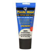 FILLER PLASTIC WOOD WHITE 6OZ