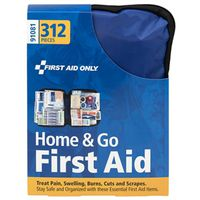 KIT FIRST AID FBRC CASE 312PC