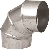 30 gauge T 6 x 5 in Imperial Manufacturing 0559047 Galvanized Steel Short Duct Reducer