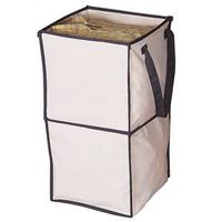 DOUBLE FOLD CANVAS STORAGE BOX