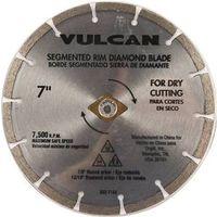 Vulcan 937691OR Segmented Rim Circular Saw Blade