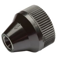 ADAPTER DRIP FHT BLK 3/4X1/4IN