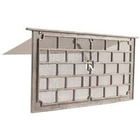 Gaf LW1 Grill Foundation Vent with Damper