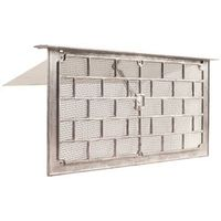 Gaf LW1L Grill Foundation Vent with 1 3/8 in lintel and Damper