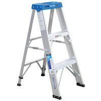 Werner 363 Single Sided Step Ladder With Pail Shelf