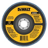 DeWalt DW8352 Coated Type 27 Flap Disc With Hub