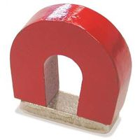 Master Magnetics 07279 Horseshoe Magnet With Keeper