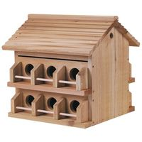 Purple Martin M-12DP Deluxe Bird House