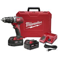 Milwaukee 2602-22 Cordless Hammer Drill/Driver Kit