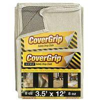 DROP CLOTH NOSLIP 3.5X12FT 8OZ