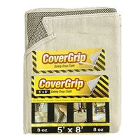 DROP CLOTH NO-SLIP 5X8FT 8OZ