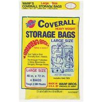 Coverall CB-40 Large Storage Bag with Twist Ties