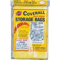 Coverall CB-45 Giant Storage Bag with Twist Ties