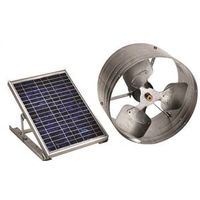 LL Buildsite PGSOLAR Gable Mount Solar Power Ventilator