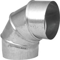 Imperial GV0296-C Adjustable Stove Pipe Elbow