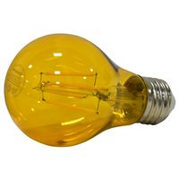 LED 4.5W A19 DIM MED YELLOW