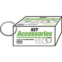 Hy-Ko KB100 Thin Wire Split Key Ring