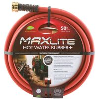 HOSE HOT WATER RUBBER 5/8X50FT