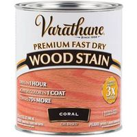 WOOD STAIN FAST DRY CORAL QT