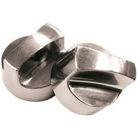 KNOB CONTROL TEMP UNIVE CHROME
