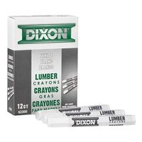 Dixon Ticonderoga 52300 Extruded Hexagonal Lumber Crayon