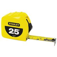 RULE TAPE HI-VIZ 1INX25FT