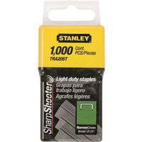 STAPLE LT DTY 1000PK 1/4IN