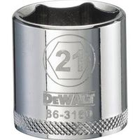 SOCKET 3/8 DRIVE 6PT 21MM