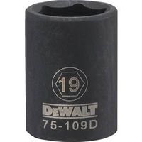 SOCKET IMPACT 1/2DR 6PT 19MM