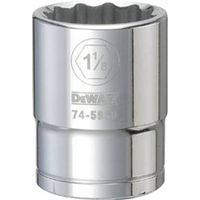 SOCKET 3/4DRIVE 12PT 1-1/8IN