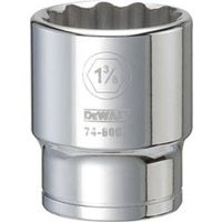 SOCKET 3/4DRIVE 12PT 1-3/8IN