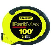RULE TAPE 100FTX3/8IN SS FATMX