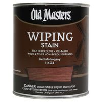 Old Masters 11404 Oil Based Wiping Stain