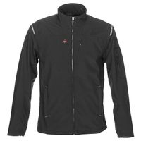 JACKET HEATED MEN BLK LG 7.4 V