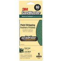 Sand Paper? With NO-SLIP GRIP? Backing