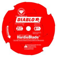 BLADE FIBERCEMENT 7-1/4X4TOOTH