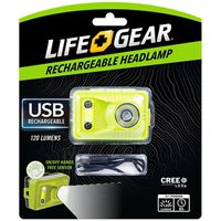 HEADLIGHT RECHARGABLE USB 120L