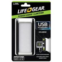 LANTERN USB RCHGBL W/PWR BANK