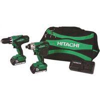 Hitachi KC18DGL  Cordless Impact Drill/Driver Kits