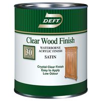Deft/PPG 109-01 Clear Wood Finish
