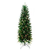 TREE 7FT PRELIT CLR ALPINE FIR