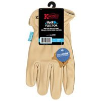 GLOVES DRIVER COWHIDE LARGE