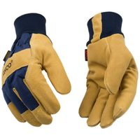 GLOVES SUEDE PIGSKIN KW LARGE