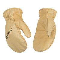 GLOVES LEATHER MITT KIDS SMALL