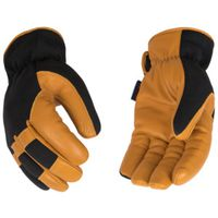 GLOVES GOATSKIN/SYNTHETIC WR L