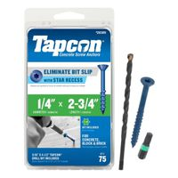 Tapcon 24385 Concrete Screw