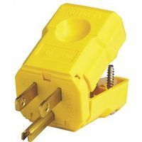 Leviton 021-05256-0PB 3-Prong Electrical Plug