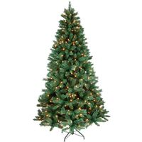 TREE FIR MXD NDL PRELT CLR 4FT