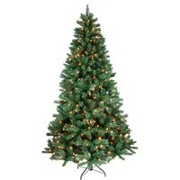 TREE FIR MXD NDL PRELT CLR 7FT