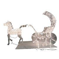 HORSE/CARRIAGE MESH 3D PRELIT